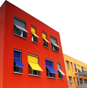 цветна сграда
