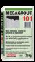 разливна, несвиваема циментова смес MEGAGROUT-101