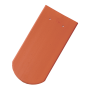 керамични керемиди Тондах Бибер - естествен цвят