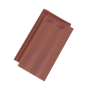 керамични керемиди Тондах Македо - естествен цвят