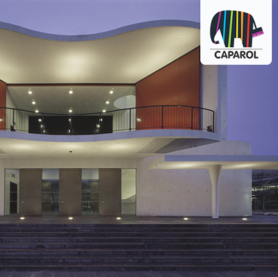 caparol beton balkon Staatstheater darmstadt