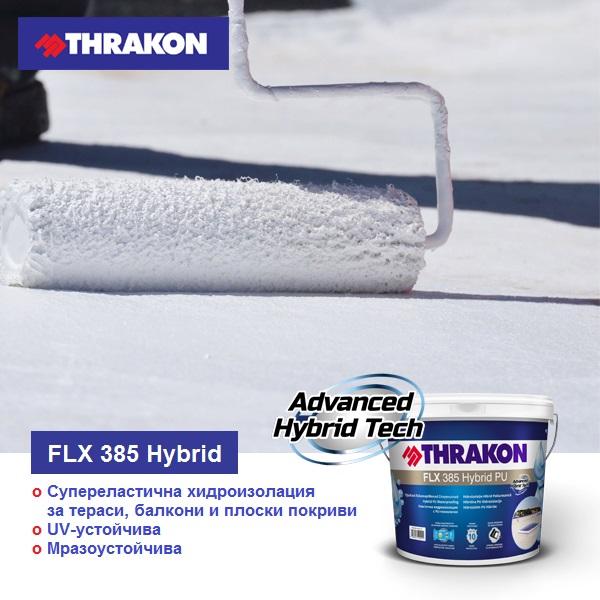 Thrakon FLX 385 Hybrid PU