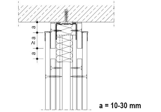 Подвижна връзка с таван 2