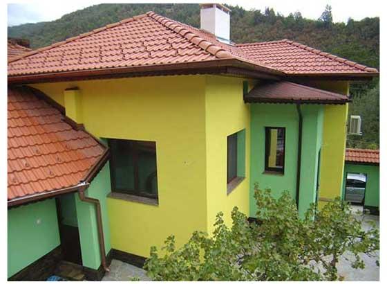 еднофамилна жилищна сграда град Троян